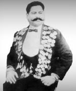 Kodi Ramamurthy Naidu (1882-1942), also known as Prof. Ramamurthy, was an Indian bodybuilder and an impresario. He was awarded a medal of honor by King George V for his wrestling abilities.